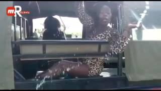 """""""Kama Ni Kuma Mnataka Mtuambie Tuwapatie!"""" Drunk Kenyan Women Cause Drama At A Police Station"""