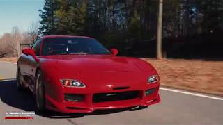 92 JDM Single Turbo FD Efini RX7 Red From Driver Motorsports