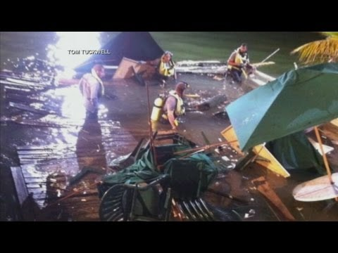 Sports Bar Deck Collapses, Dozens Hurt in Miami