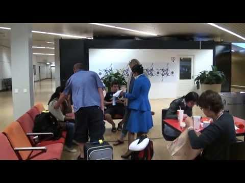 Na`Vi adventures at the airport @ The International 2013