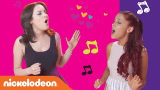 Hallway Anthems | Ariana & Liz Sing 'Give It Up' | Nick