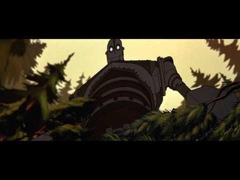 The Iron Giant (1999) - Trailer - Brad Bird