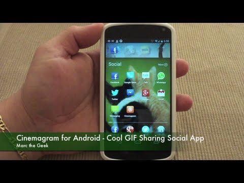 Cinemagram for Android - Cool GIF Sharing Social App