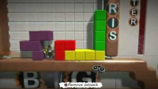 LittleBigPlanet - LittleBigTris (tetris)