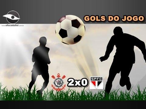 14-02-2015 - Corinthians 2x0 São Paulo - Gols e grito de olé!