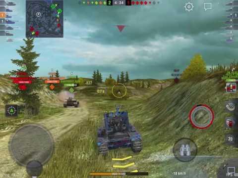 WoT Blitz || Grille 15 - 8000+ DMG || Feat. Paskaa_Lumella_1