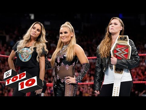 Top 10 Raw moments: WWE Top 10, August 27, 2018 thumbnail