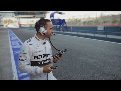 Allianz Safety Facts - Distraction - with Nico Rosberg & Lewis Hamilton