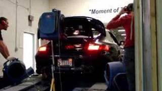 Porsche 996TT 700HP Dyno PES Tuning