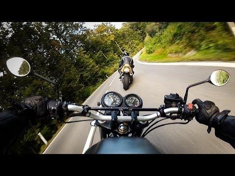 RAW onboard: little Honda CHASING random FIREBLADE
