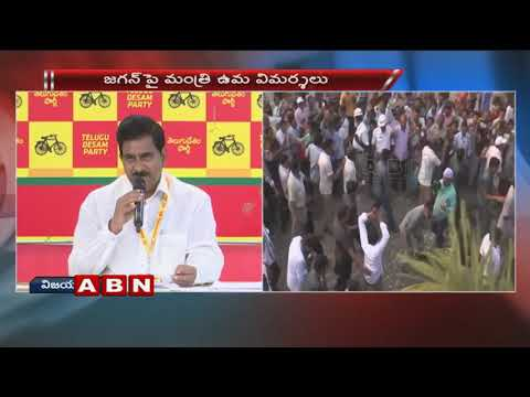 Minister Devineni Uma speaks to Media over IT Raids and YS Jagan Comments | ABN Telugu