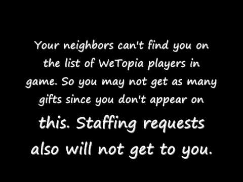Facebook Tips for WeTopia Players