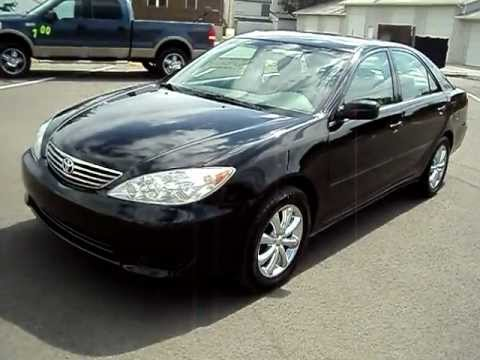 2006 toyota camry black for sale youtube. Black Bedroom Furniture Sets. Home Design Ideas