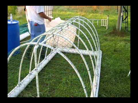 Chicken tractor the build youtube