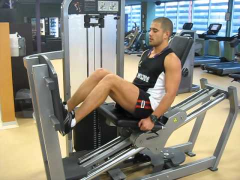Calf raises on the Leg Press Image 1
