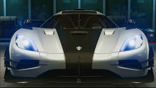 Forza 6 -Koenigsegg One:1 First Drive / TOP SPEED Run (Mobil One) | SLAPTrain