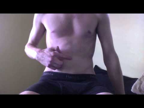 Belly Button Twink Touching Belly Button video