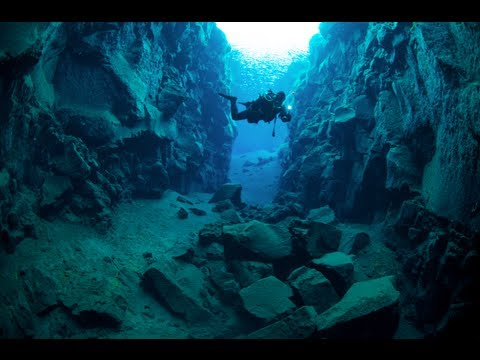 Expedition Island: Tauchen in der Silfra Spalte - Diving Island Silfra Canyon