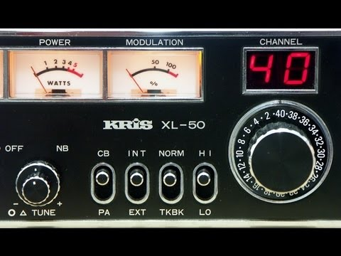 KRIS XL-50 High-End, 40CH-AM, CB Radio