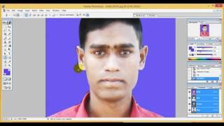 ফ্রি ফটোশপ শিক্ষা পর্ব ১  পাসপোর্ট সাইজ ছবি তৈরী   YouTube 720p