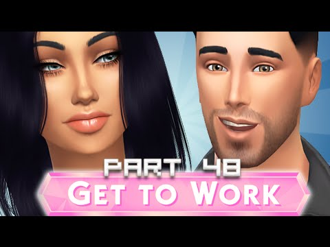 The Sims 4 | Get To Work | Part 48 - Freezing Co Workers.