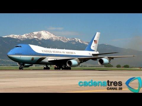Air Force One, el avión presidencial de Barack Obama