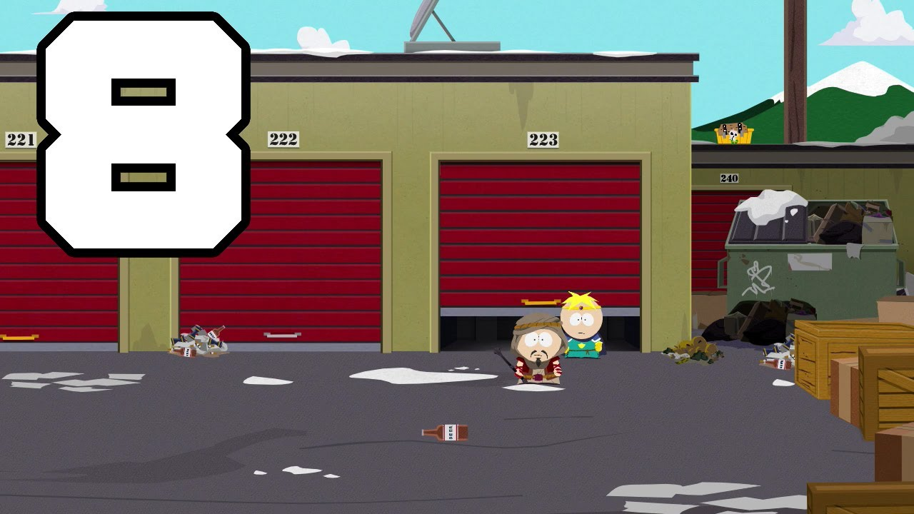 south park the stick of truth butters chaos lair
