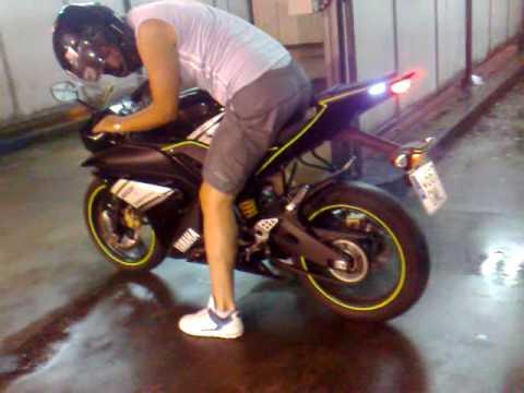 Yzf R125 Mods Yamaha Yzf R125 Burnout