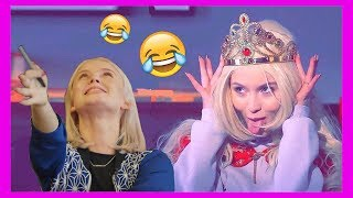Funny moments with Zara Larsson