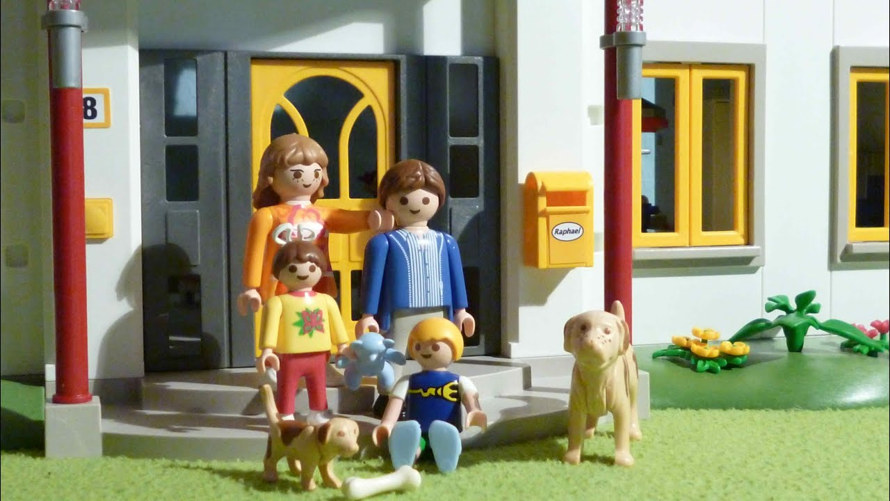 Playmobil 4279 neues wohnhaus youtube for Salle de bain villa moderne playmobil