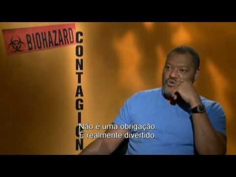 Contágio - Entrevista com Laurence Fishburne