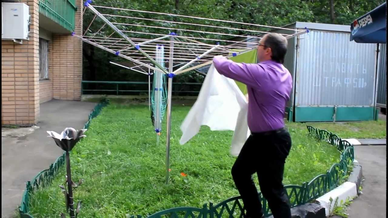Как сделать домам сушилку для белья