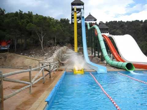 aqualandia water park benidorm youtube