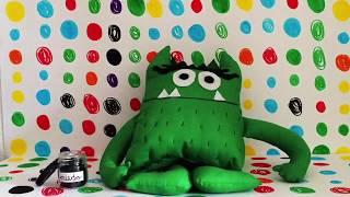 cute kids video El monstruo de colores le monstre de couleur
