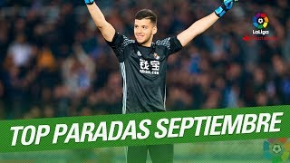 TOP Saves September LaLiga Santander 2017/2018
