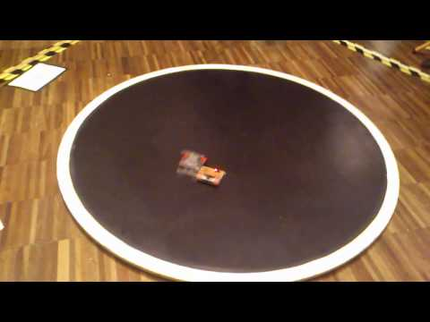 Sumo Challenge 2014 [Minisumo+] Szwagierka vs Buster [Exceptional Moments]