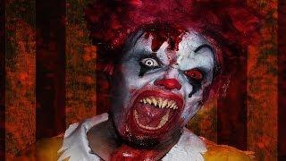 Zombie Ronald McDonald - Makeup Tutorial!