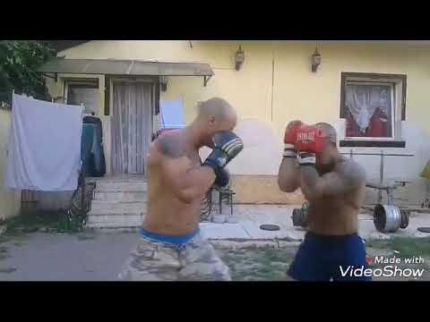 Fekete László felkészülés a Lakatos Dénes elleni meccsre
