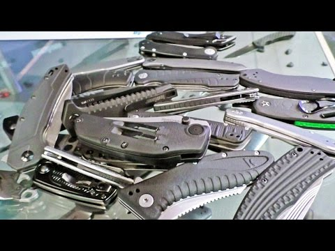 Kershaw's Awesome New Pile of Knives: SHOT Show 2016