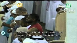 صلاة التهجد ست ركعات الاولى  ليلة 29 رمضان 1436 : الشيخ سعود الشريم