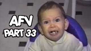 Babies making funny faces while trying new foods - AFV | OrangeCabinet