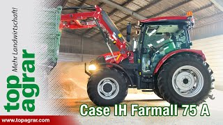 Case IH Farmall 75 A im top agrar-Praxistest