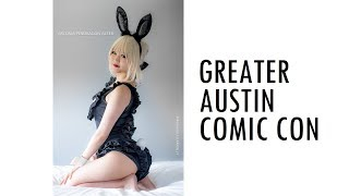 THIS IS GREATER AUSTIN COMIC CON 2018 GACC COSPLAY MUSIC VIDEO VLOG ANIME TEXAS