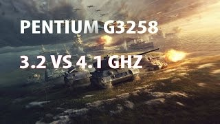 World of Tanks I G3258 3.2 vs 4.1GHZ I GTX770