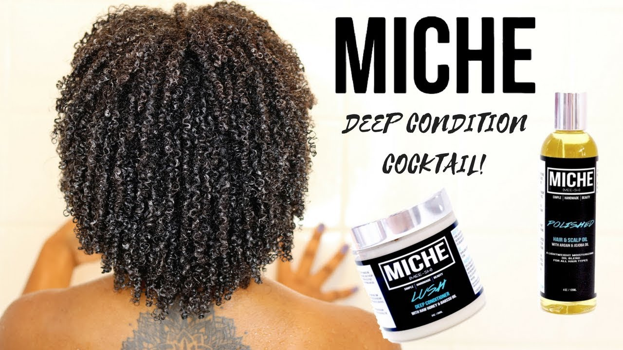 2 PRODUCT DEEP CONDITION COCKTAIL | Miche Beauty!