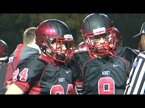 Carmel vs. Benet Academy Football, October 10, 2014