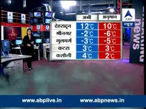 ABP LIVE weather update l Partly cloudy in Delhi-NCR, light rain likely