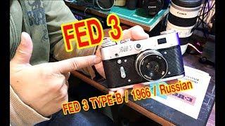 FED 3  Type B 1966  (Russian)  กล้องฟิล์มวินเทจ
