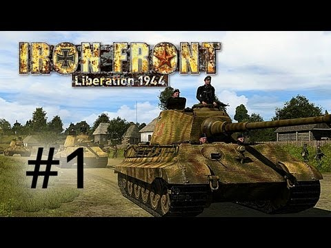 Let's Play Iron Front: Liberation 1944 #1 - Gameplay-Walkthrough mit der Beta-Version
