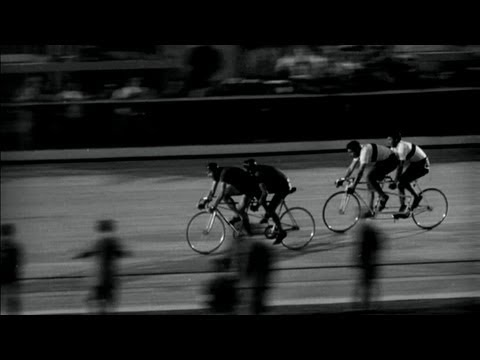 The Italian hosts win the tandem cycling race - Rome 1960 Olympic Games